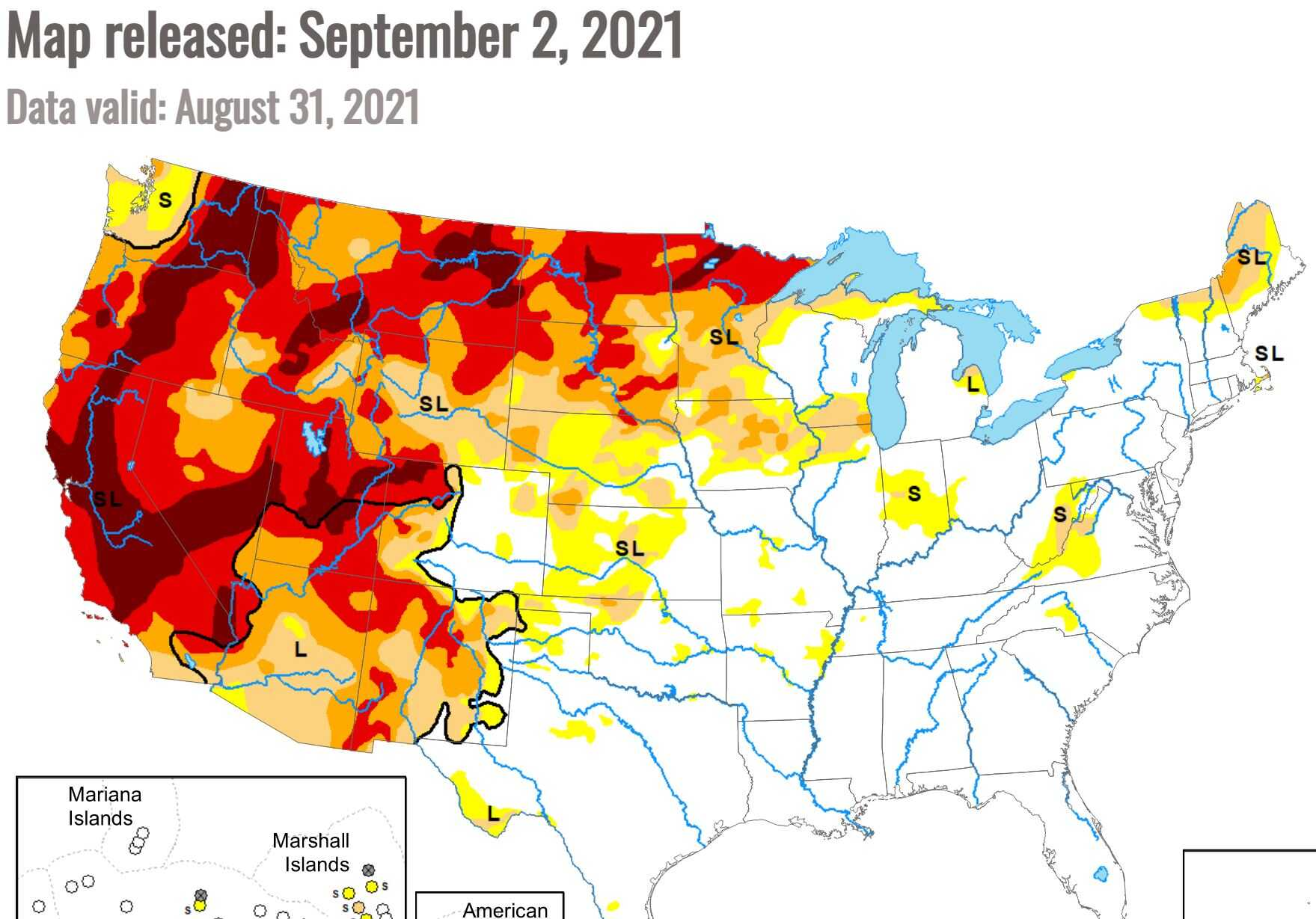 Drought set to expand east?